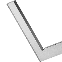 Flat squares and rulers