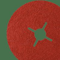 Abrasive fibre discs with Velcro