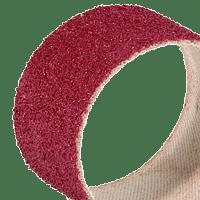 Abrasive spiral bands