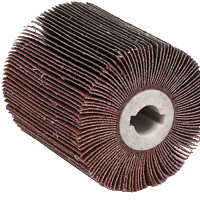 Abrasive wheels for buffing machines