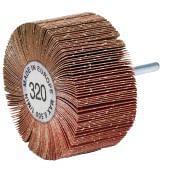 Rulli a lamelle abrasive con gambo WRK Abrasivi 21492 0