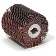 Rulli a lamelle abrasive per satinatrici portatili WRK Abrasivi 31957 0