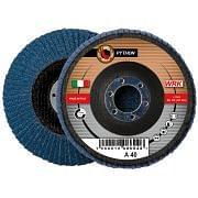 Dischi lamellari con supporto in fibra e tela abrasiva in zirconio WRK PYTHON FIBRA Abrasivi 244834 0