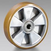 Ruote in poliuretano nucleo in alluminio TELLURE RÔTA Attrezzatura per officina 6105 0