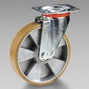 Ruote in poliuretano nucleo in alluminio con supporto TELLURE RÔTA Attrezzatura per officina 6106 0