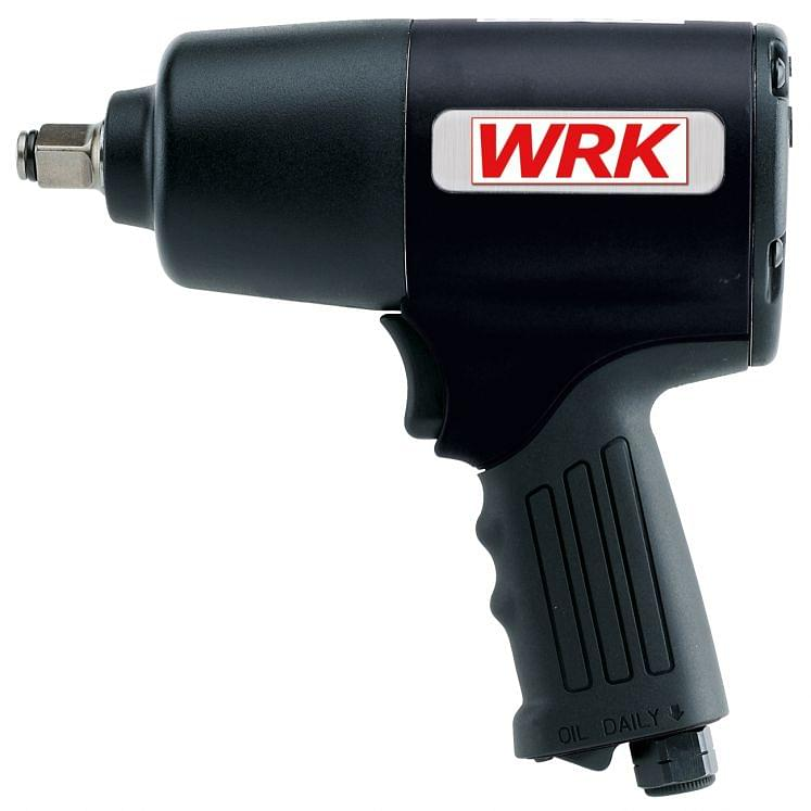 Air impact wrenches with rubber coated handle WRK