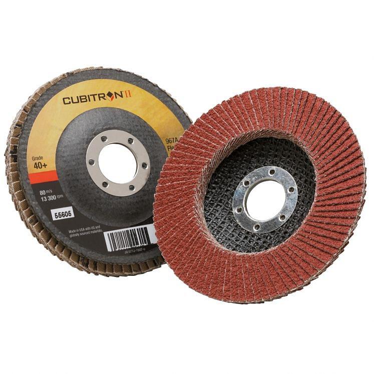 Flat flap grinding discs 3M 967/A CUBITRON II VERSIONE PIANA