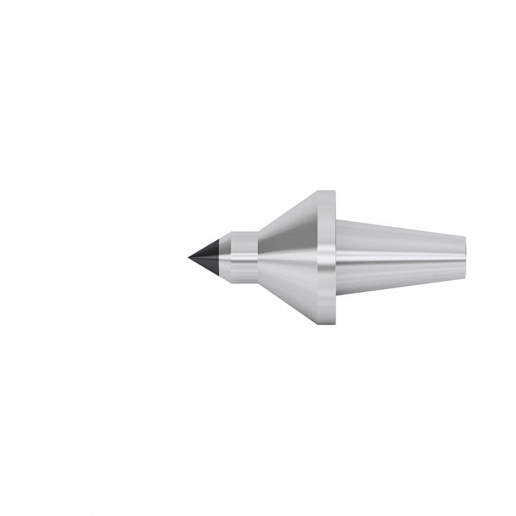 Interchangeable tips with reduced diameter and carbide point for live centres KERFOLG