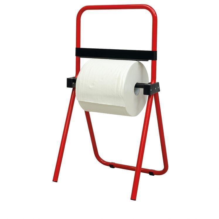 Floor roll holder