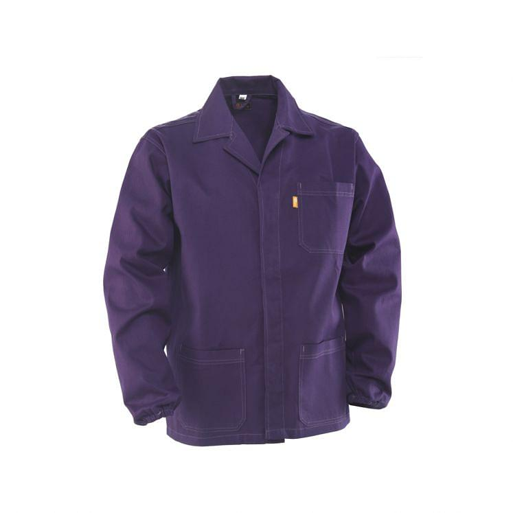 Workwear Jackets blue in sanforized massaua cotton