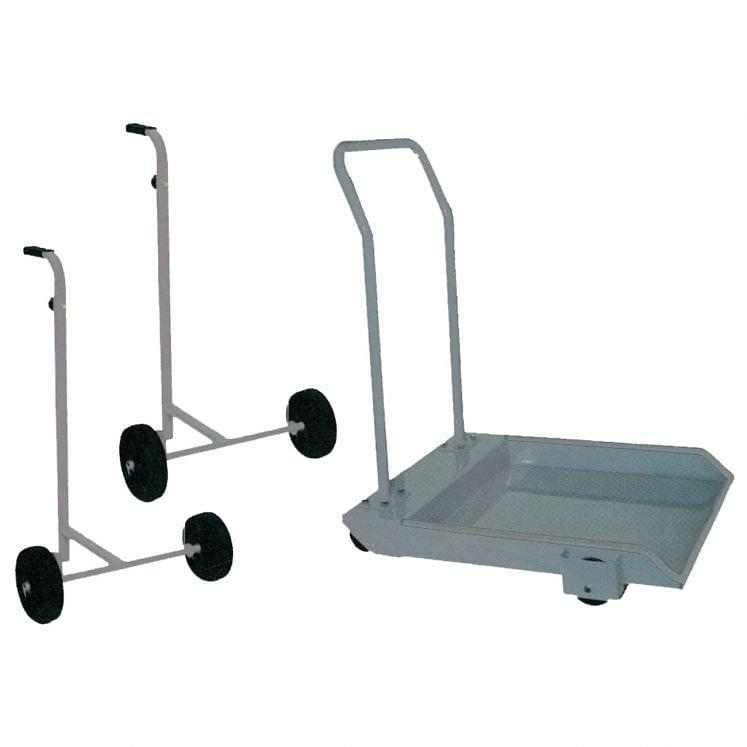 Drum trolley for air pulsometer