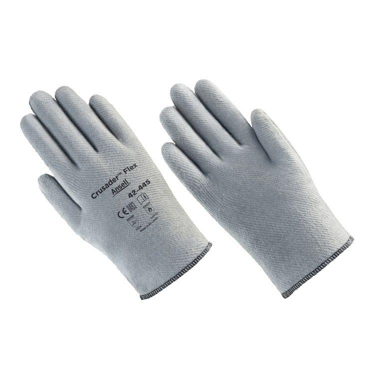 Work gloves heat resistant ANSELL CRUSADER FLEX 42-445 42-474