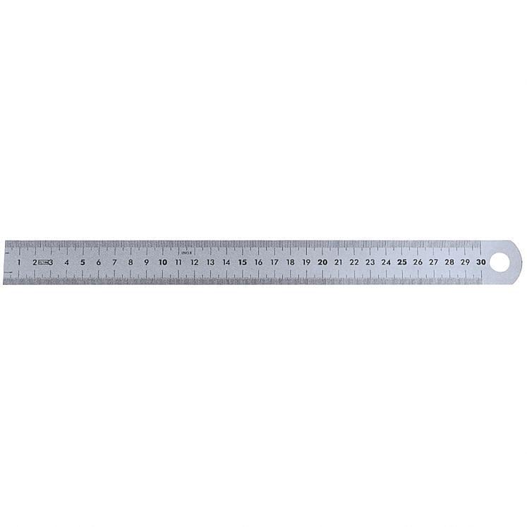 Stainless steel semirigid rulers WRK