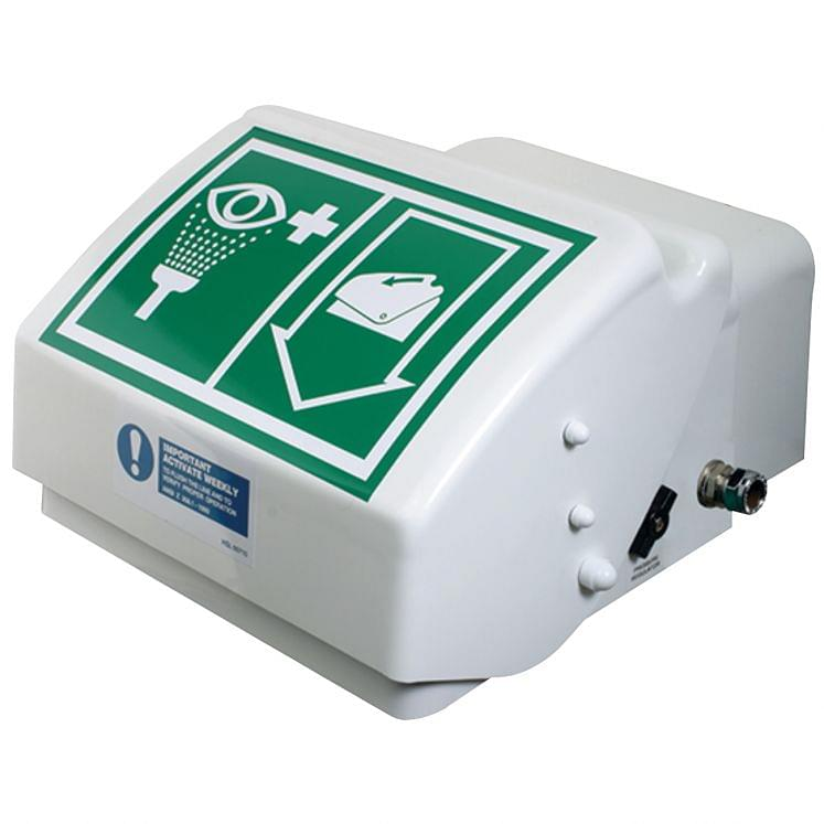 Eye and face wash unit in ABS