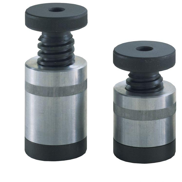 Screw supports with magnetic base