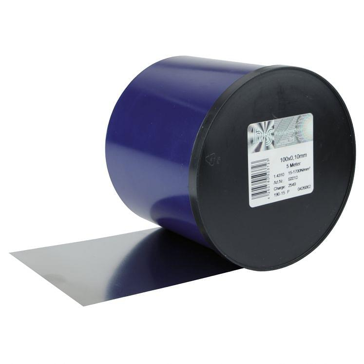 Calibrated stainless steel tapes