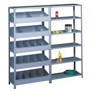 Bolted shelf racks Furnishings and storage 4924 0