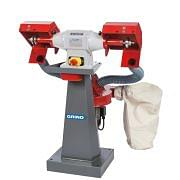 Ecological bench polishing machines 400 Volt GRIND Workshop equipment 6277 0