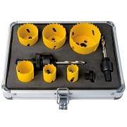 Bi-metal hole saws in case WRK 6 pieces Workshop equipment 31852 0