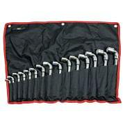 Set of double headed socket wrenches WRK Hand tools 14464 0
