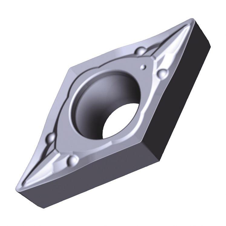 TUNGALOY, positive Drehwendeschneidplatten - Form D - PSS