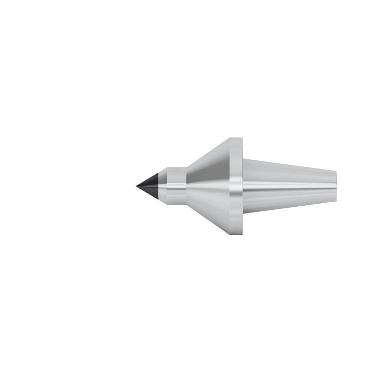 KERFOLG, Auswechselbare Einsätze, für Drehbankspitze, Laufspitze aus Hartmetall, reduzierter Durchmesser