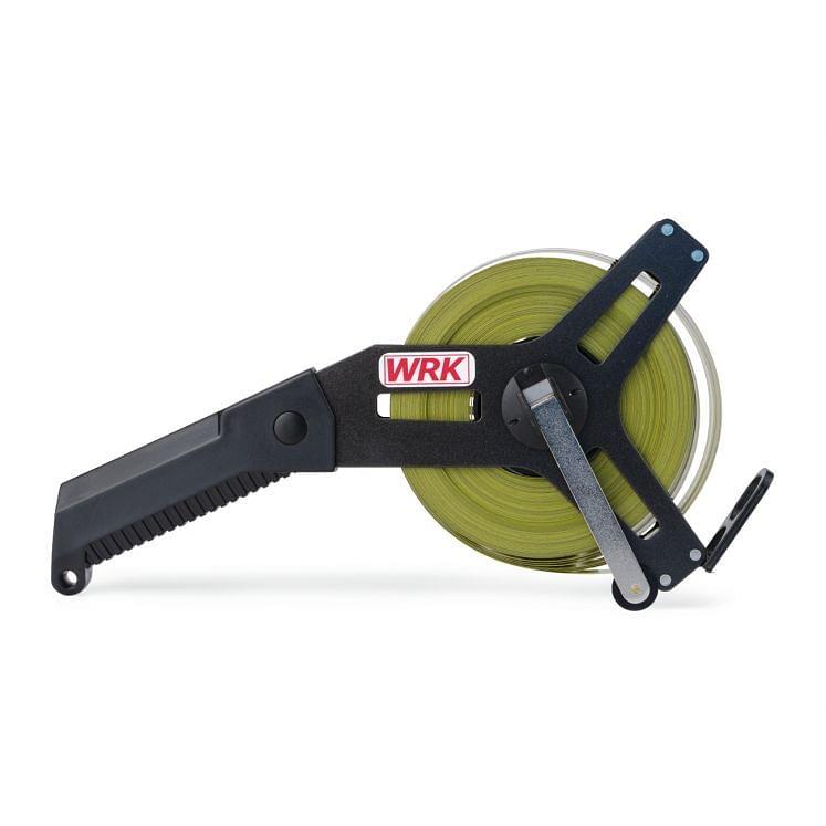 WRK, Rollbandmaße mit Band aus Glasfaser und Kurbelarm