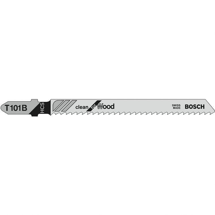 BOSCH, Stichsägeblätter, für Holz, T 101 B