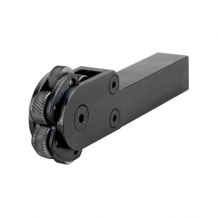 KERFOLG, Rändelwerkzeug für mehrere Rändelräder, für konventionelle Drehmaschinen, ROUGH