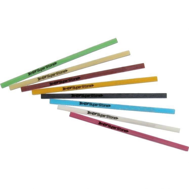 GESSWEIN, Schleifsteine aus Keramikfaser 1x10x100