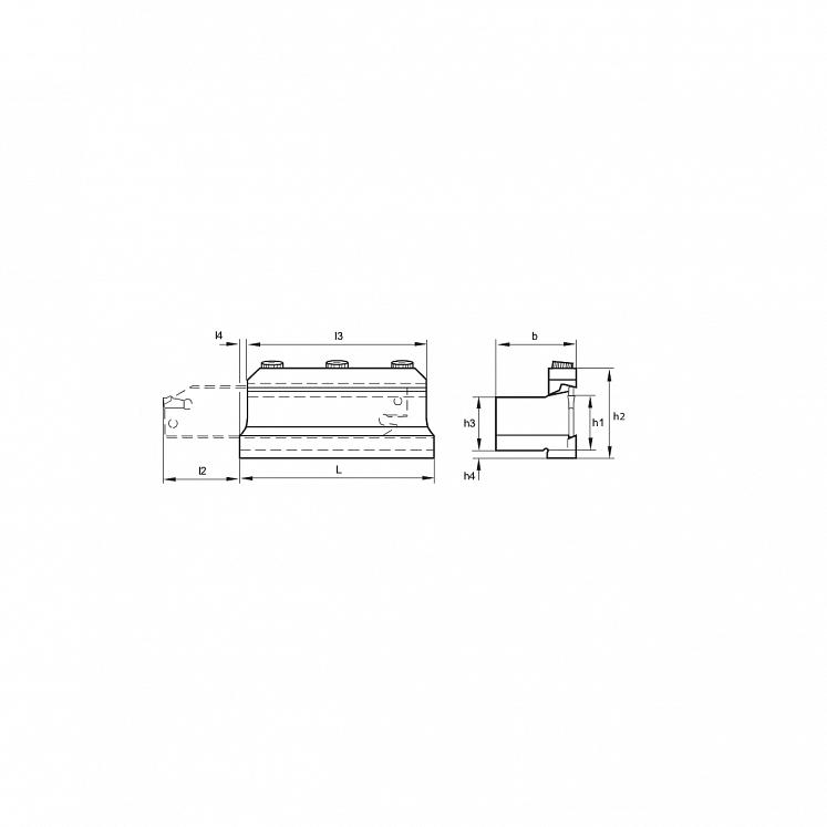 KERFOLG TRONCA, Schwerter-Halter für Abstechplatten