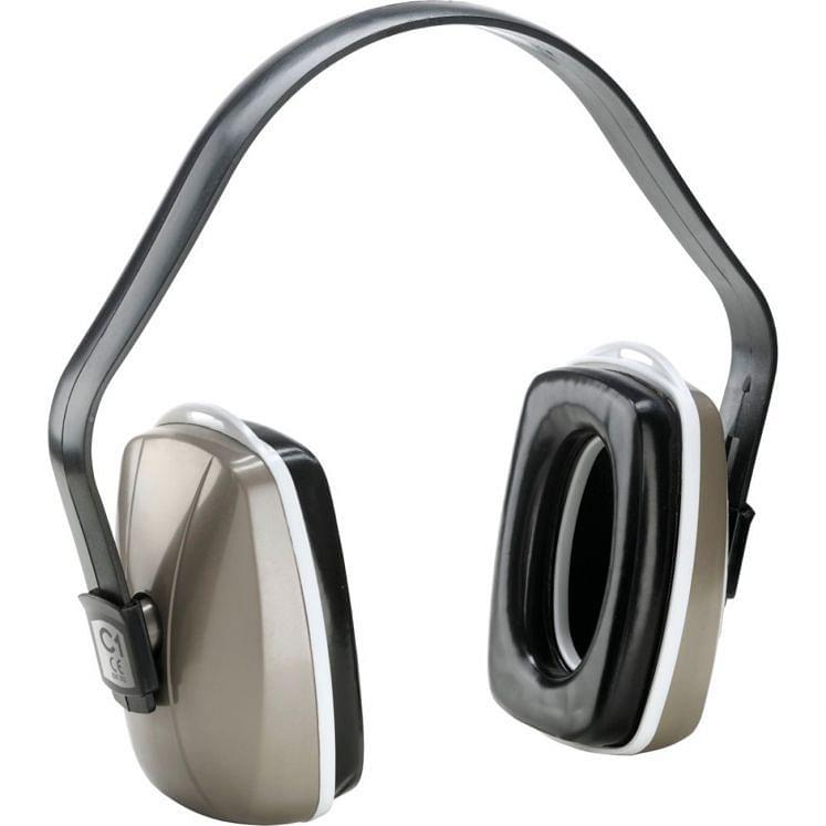 Kapselgehörschützer mit Kopfbügel aus ABS