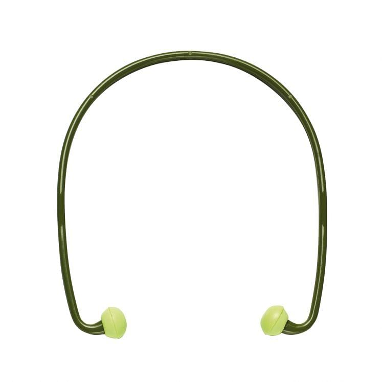 Gehörschutzstöpsel, mit Kopfbügel