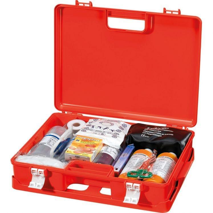 Erste-Hilfe-Set im Koffer MED P4
