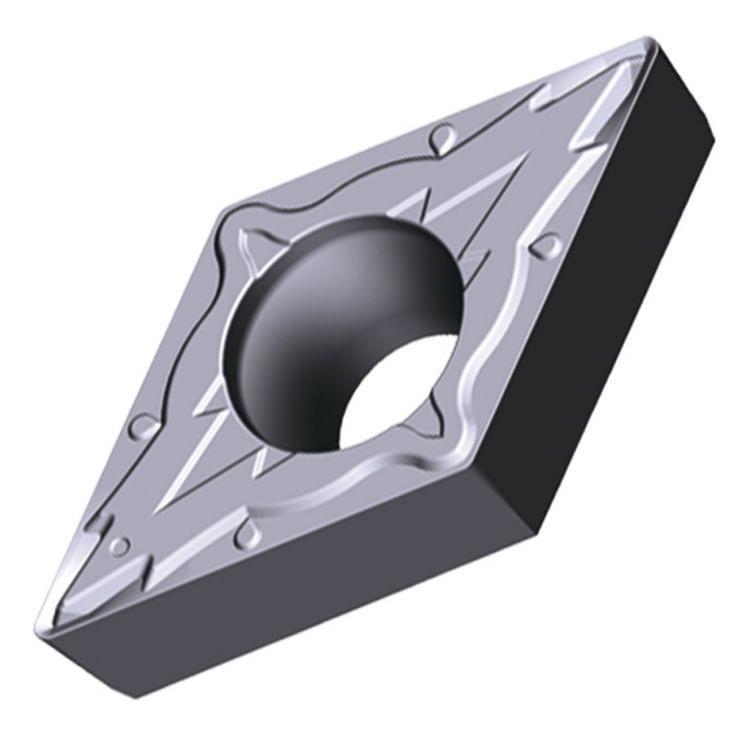 TUNGALOY, positive Drehwendeschneidplatten - Form D - PSF