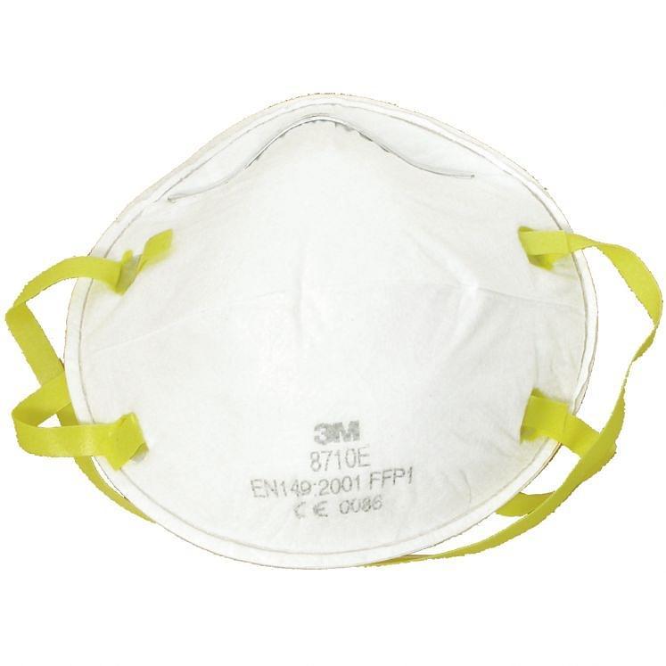 3M, Staubschutzmasken, FFP1, 8710