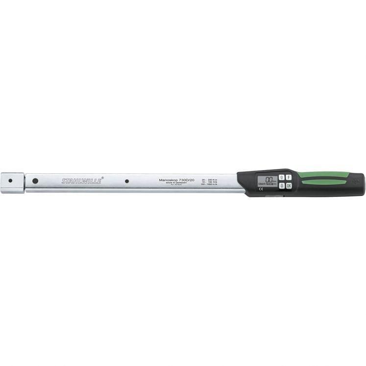 STAHLWILLE, elektronische Drehmomentschlüssel mit Kupplung 730D