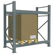 Palettenregale, schwere Ausführung Betriebseinrichtungen und Behälter 4927 0
