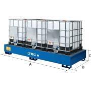 LTEC, Stahlwannen, für Tanks Betriebseinrichtungen und Behälter 30291 0