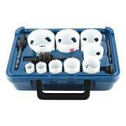 WRK Set Bimetall-Lochsägen SHARK im Koffer, 9-teilig Maschinen, Vorrichtungen und Bauteile 38947 0