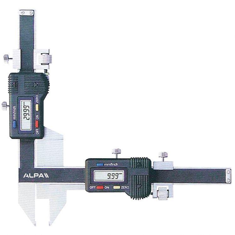 Pies de rey digitales para engranajes ALPA AA140