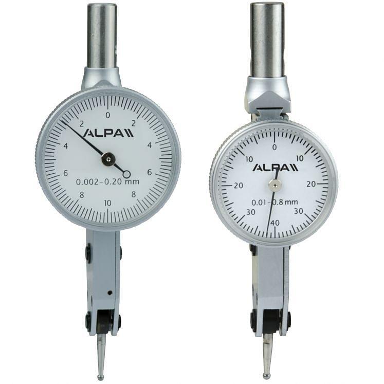 Comparadores mecánicos de palanca ALPA CB052