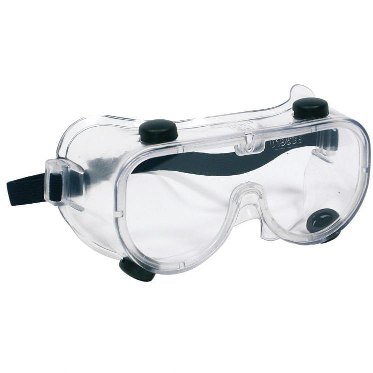 Mascarillas protectoras montura de plástico suave lente sustituible
