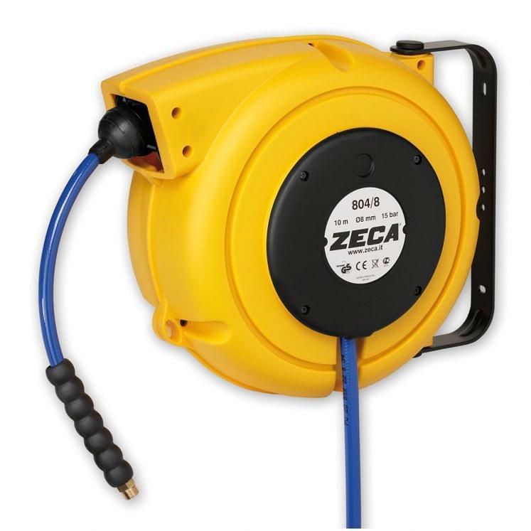 Enrolladoras de manguera para aire comprimido ZECA 804/8-804/10