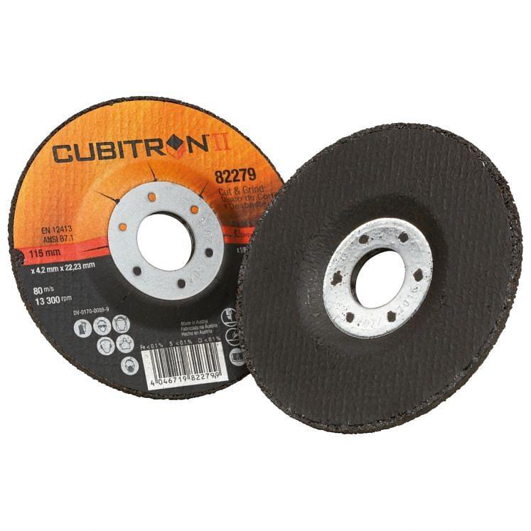 Disco híbrido para corte y desbarbado 3M CUT & GRINDING CUBITRON II