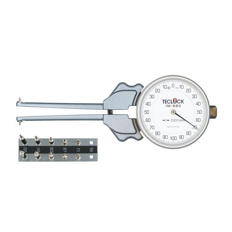 Medidores rápidos para ranuras interiores de alta precisión TECLOCK