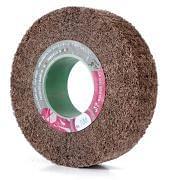 Ruedas de láminas abrasivas con orificio tejido no hilado WRK Abrasivos 32283 0