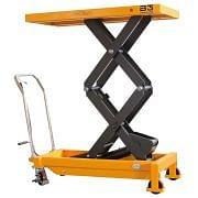 Mesas móviles de elevación de tijera doble con rodillos capacidad 700 kg B-HANDLING. Elevación de cargas 35278 0
