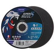 Discos de corte planos NORTON SUPER BLEUE 4 Abrasivos 35680 0