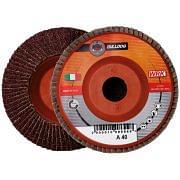 Discos laminares con soporte de plástico y tela abrasiva de corindón WRK BULLDOG PLASTICA Abrasivos 30172 0
